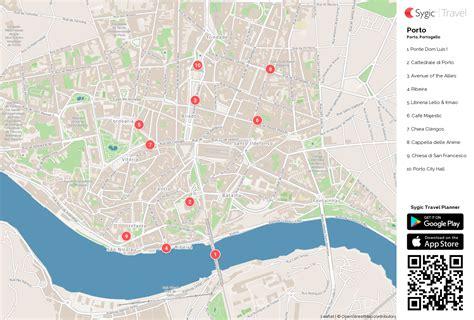 cartina porto porto mappa turistica da stare sygic travel