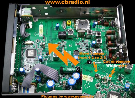 Modification Cb Radio by Www Cbradio Nl Pictures Manual And Specifications