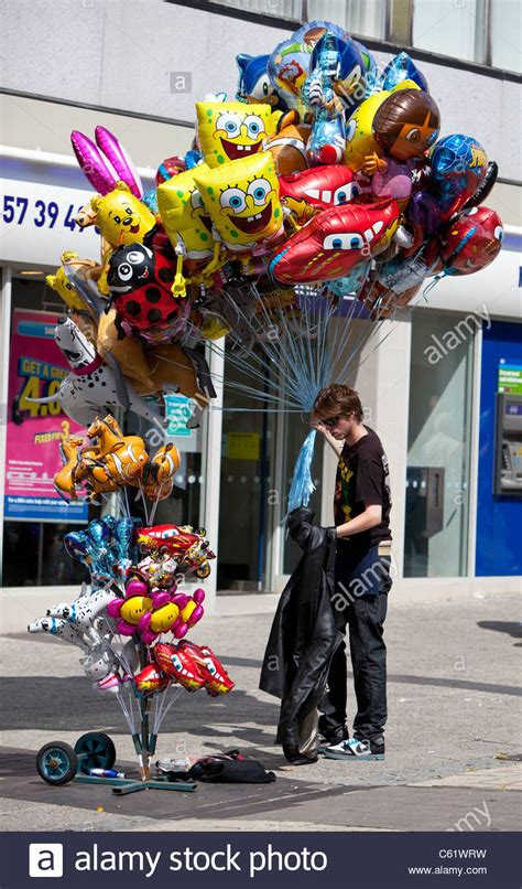 characters helium balloons seller plymouth