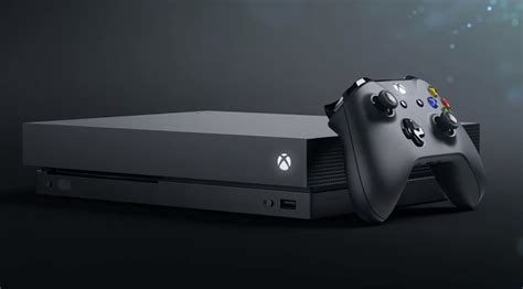 Xbox One X updated microsoft announces xbox one x at e3 2017