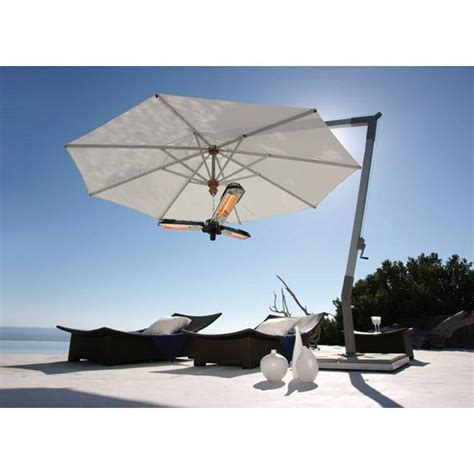 Maximus Gold Plus 2kw Parasol Patio Heater Hanging Chain Parasol Patio Heater