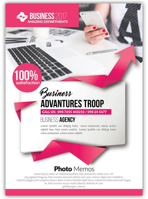 A Bundle Of 100 Attractive Psd Flyer Templates For Your Business Attractive Flyer Templates
