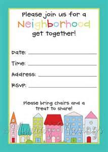 block invitations and invitations on