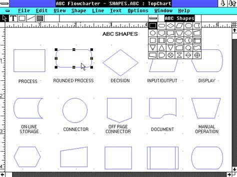 micrografx flowcharter micrografx abc flowcharter en fr win3x org