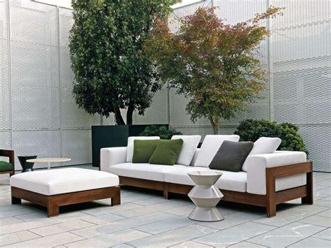 divani in legno divani da esterno 2015 foto design mag