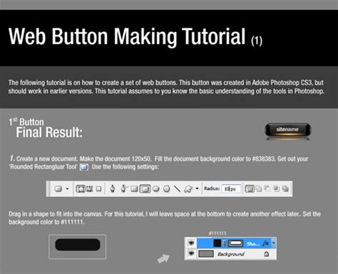 web ui tutorial ui 40 button tuts june 2014 photoshop buttons21 noupe