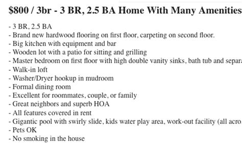 Craigslist Ta Rooms For Rent by 5 Warning Signs That A Craigslist Rental Listing Is