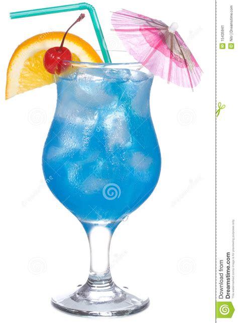 orange and blue cocktails