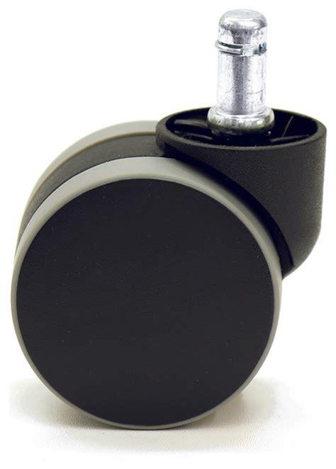 office chair rubber caster wheels katu bg601 38 office chair caster wheels rubber pu large