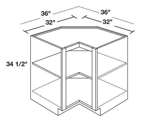 Corner Cabinet Sizes by Kitchen Base Cabinet Dimensions