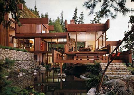 layout of will graham s house arthur erickson residential homes