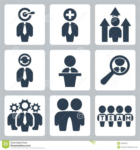 Vector Business Icons Set Royalty Free Stock Photos Image 1095468 Vector Business Icons Set Stock Vector Image Of Manager 34982467