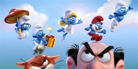 smurfs the lost smurfs the lost gets a poster trailer arrives