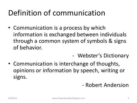 design communication definition communication process