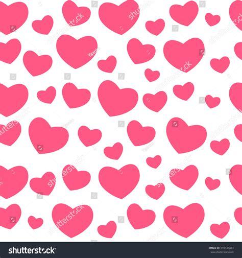 seamless pattern love heart love seamless pattern background vector stock vector