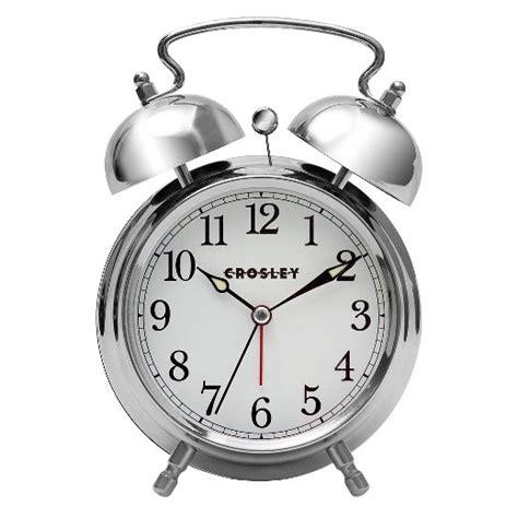 analog alarm clock silver crosley 174 target
