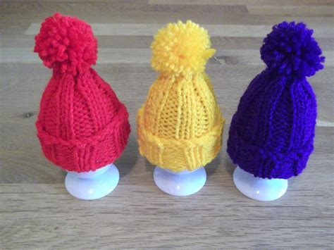 Egg Cosy Pompom Hat By Daisygrayknits Knitting Pattern