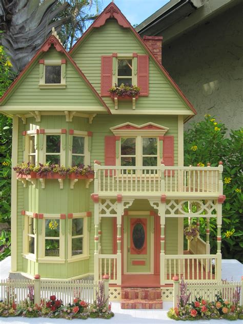 doll house paint dollhouses by robin carey new gothic victorian dollhouse