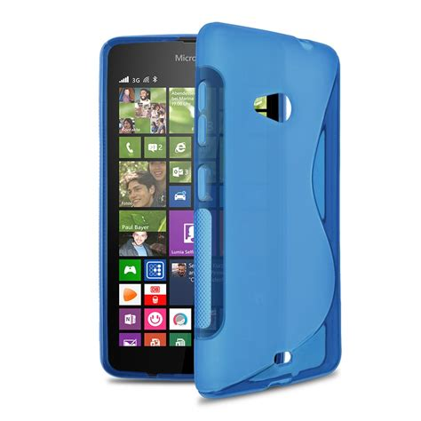live themes for lumia 535 soft tpu case back cover skin for microsoft for nokia