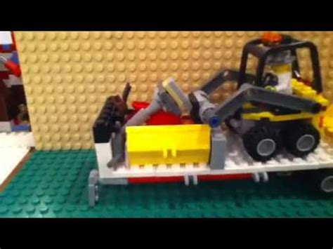 John Deere Bedroom Ideas lego construction trailer moc youtube