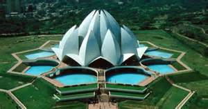 Temple Of The Lotus A Lotus Shaped Temple Bah 225 237 House Of Worship New Delhi