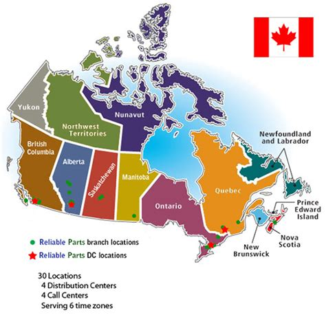 canadian map store reliable parts appliance parts store locations in canada