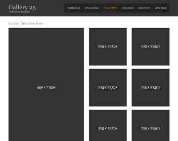 gallery 5 gallery templates os templates