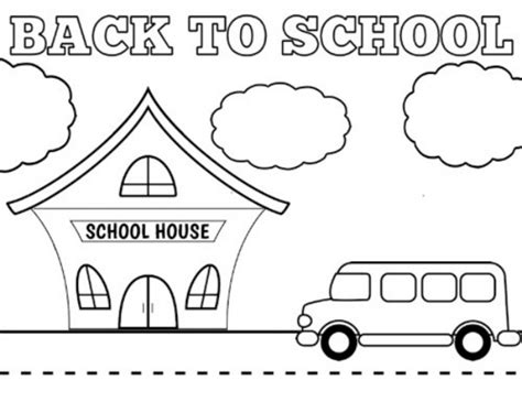 back to school coloring page kindergarten back to school coloring pages coloringsuite com