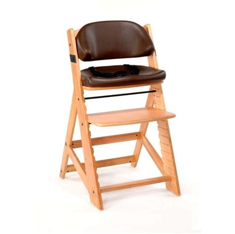 keekaroo high chair keekaroo height right high chair chocolate comfort cushion