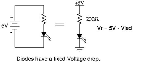 diode vs led clipping introduction to electronics ccrma wiki