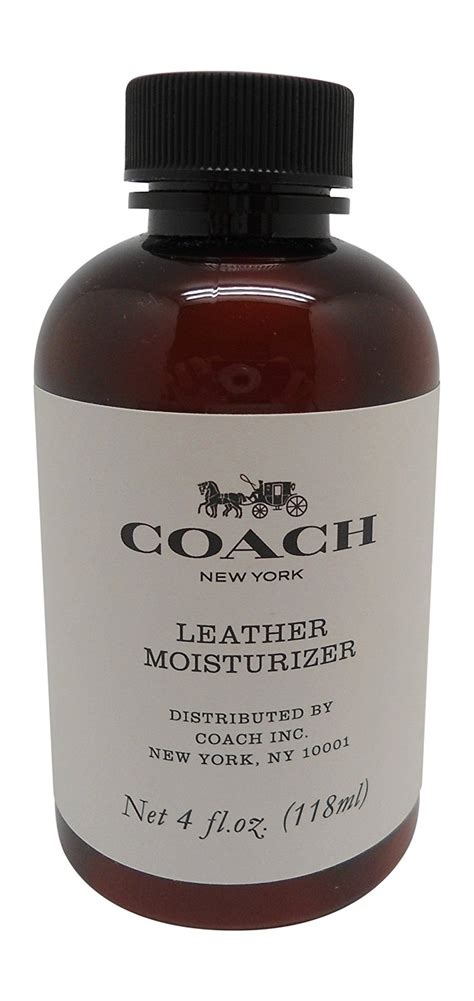 How To Moisturize Leather by Coach Leather Moisturizer 4 Oz