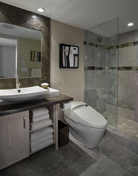 Agradable  Imagenes Cuartos De Bano Pequenos #6: Banos-bonitos-lavabos-diseno-mampara-cristal.jpg