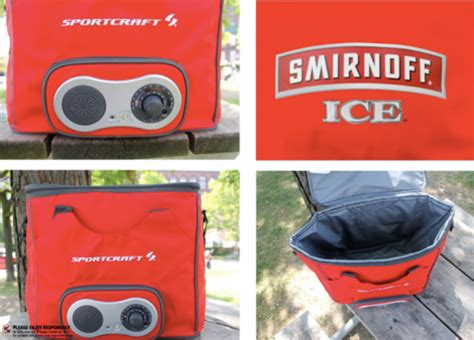 Smirnoff Ice Sweepstakes - free smirnoff ice speaker cooler giveaway