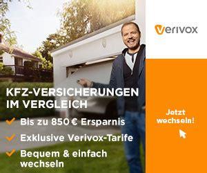 Autoversicherung Rechner Verivox by Autoversicherung 2018 Die G 252 Nstigsten Autoversicherungen