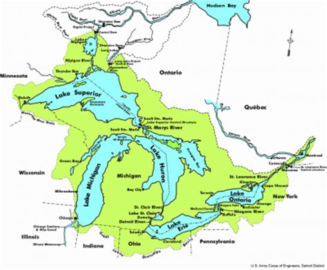 about the great lakes and st. lawrence region great