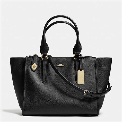 Tas Coach Crosby Carryall crosby carryall in crossgrain leather if the regular handles on this had 2 more inches of drop