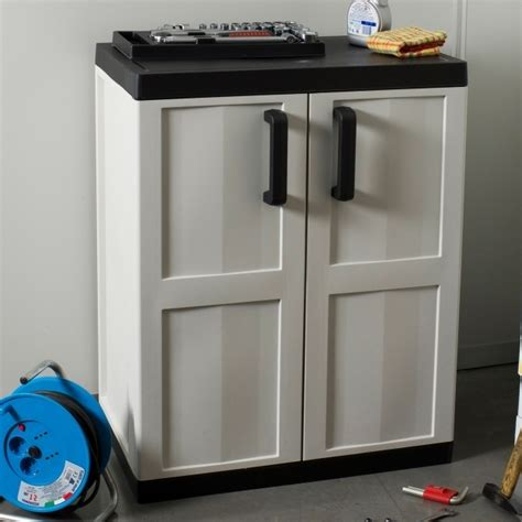 plastic storage cabinets for garage storage designs