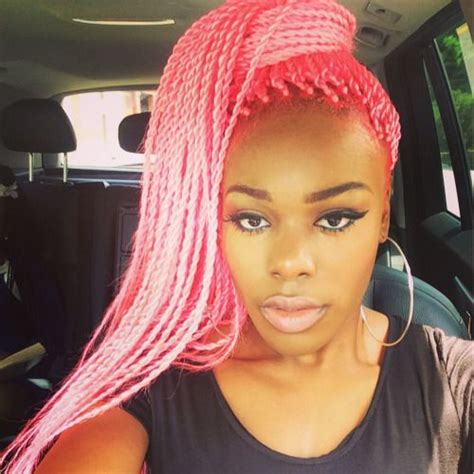 pink box braids google search that hair thoughh 177 best images about box braids vs faux locs on pinterest