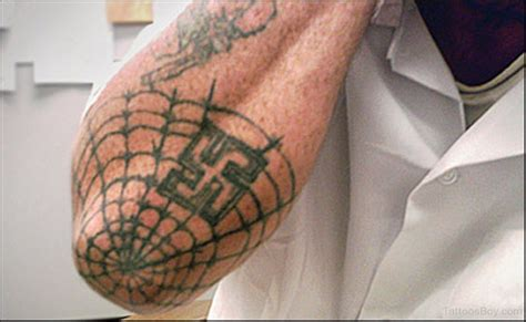 what does a spider web tattoo on the elbow mean spiderweb tattoos designs pictures page 2
