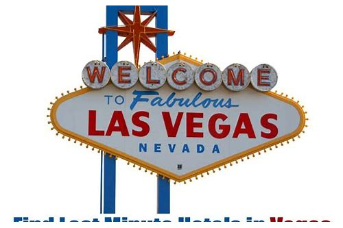 las vegas package last minute deals