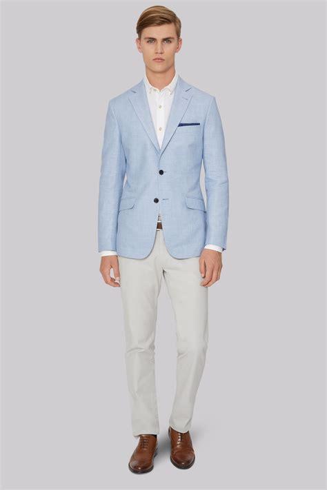 Linen Cotton Jacket hardy amies mens sky linen cotton jacket ebay