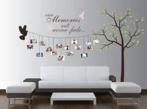 Tree Sticker Wall Decor beautiful family tree wall decal ideas home designing