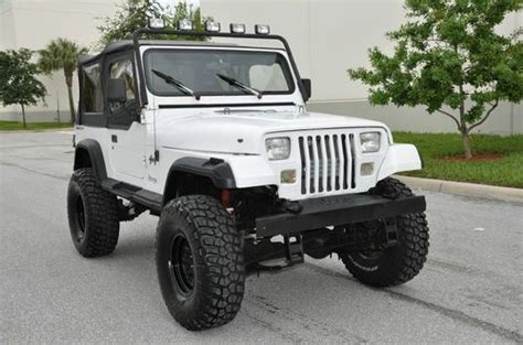Automatic Jeep Soft Top Sell Used Jeep Wrangler 4x4 4 0l Automatic Soft Top Cj
