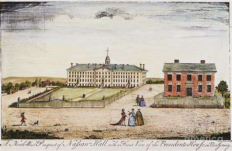 Granger College by Princeton College 1764 Photograph By Granger