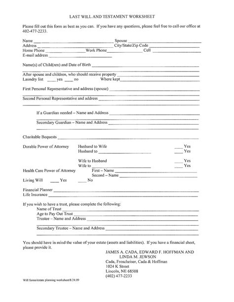 free australian will template free printable last will and testament forms australia