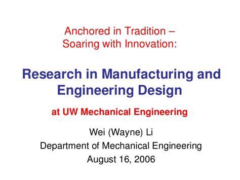 design for manufacturing slideshare manufacturing