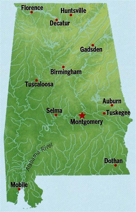alabama state map alabama state maps interactive alabama state road maps state maps