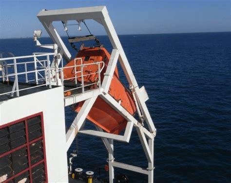 verhoef reddingssloep free fall lifeboat archives gcaptain maritime offshore