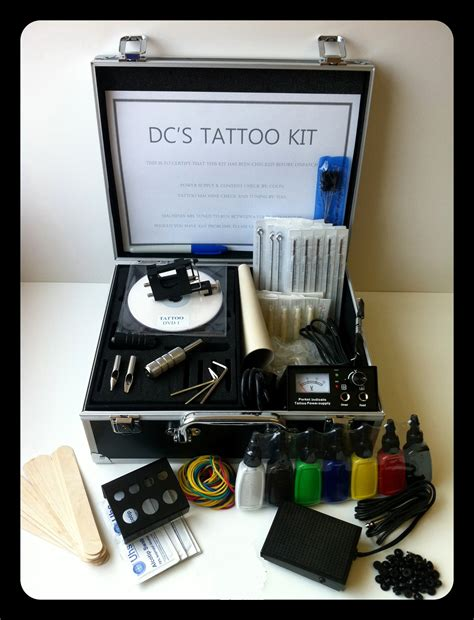 Tattoo Kit Professional | professional rotary tattoo kit ebay