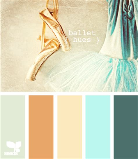 ballet color color inspiration boards via design seeds at home with